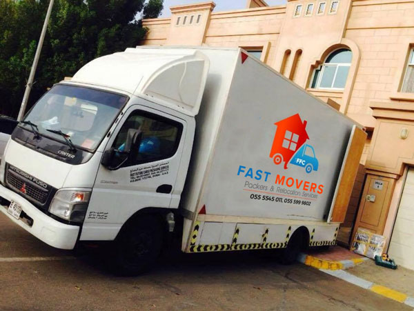 Fast movers truck image